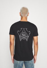 Diesel - T-INY T-SHIRT - Print T-shirt - black - 2