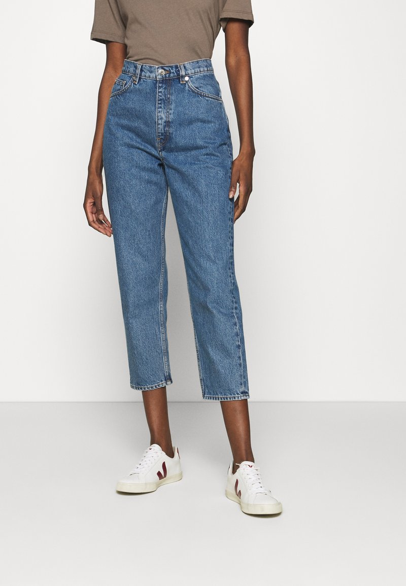 ARKET - Straight leg jeans - washed blue