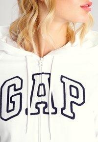 GAP - veste en sweat zippée - white - 3