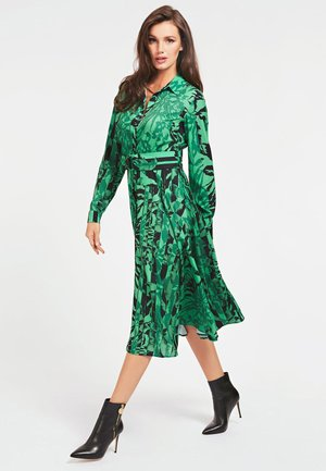Shirt dress - vert multi