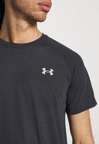 Under Armour - STREAKER - T-shirt basic - black - 3