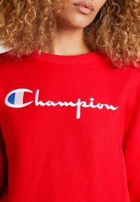 Champion Reverse Weave - BIG SCRIPT CREWNECK - Sweatshirt - red - 6