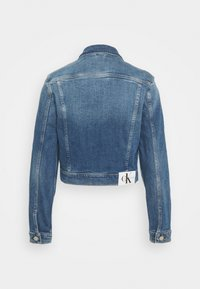Calvin Klein Jeans - CROPPED JACKET - Denim jacket - denim light - 1