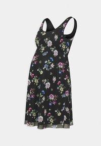 Anna Field MAMA - 2 PACK - Žerzejové šaty - black/multicoloured - 1