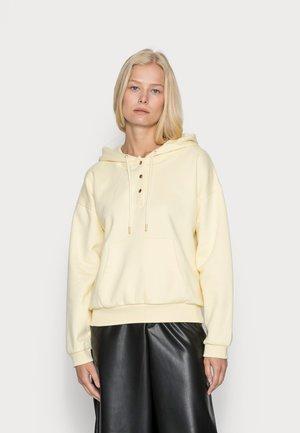 OLOFOU HOOD - Sweatshirt - yellow