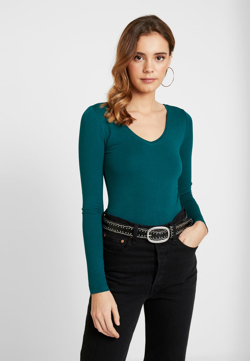 Even&Odd - BODYSUIT BASIC - Maglietta a manica lunga - dark blue