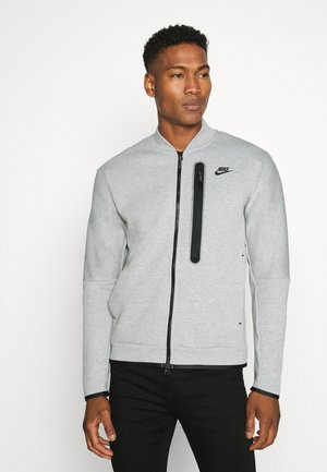 Träningsjacka - grey heather/black
