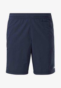 Reebok - UTILITY ESSENTIALS TRAINING 1/2 - Pantaloncini sportivi - blue - 5