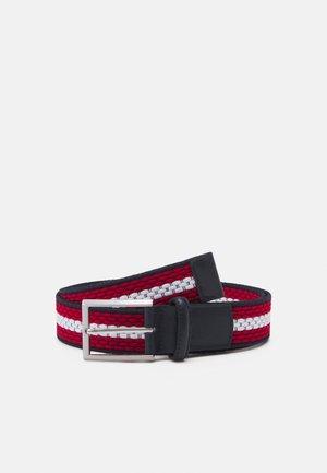 Belt - dark blue/red/white