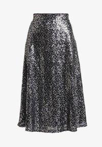 ONLY - ONLVIVA SKIRT - A-line skirt - black/silver - 3