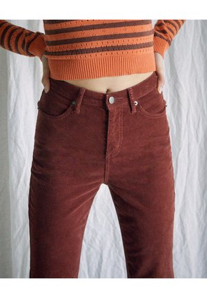 Jean bootcut - cinnamon
