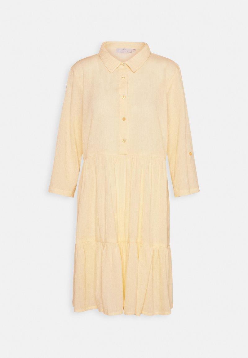 Kaffe - KAVIVIAN DENIKE DRESS - Shirt dress - golden haze