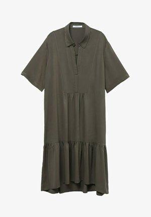 MIT VOLANT - Robe d'été - khaki