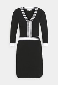 Morgan - Shift dress - noir/off white - 4