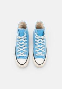 Converse - CHUCK 70 RECYCLED UNISEX - Sneakers alte - university blue/egret/black - 3