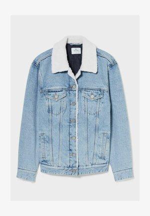 COAT - Denim jacket - denim-blue