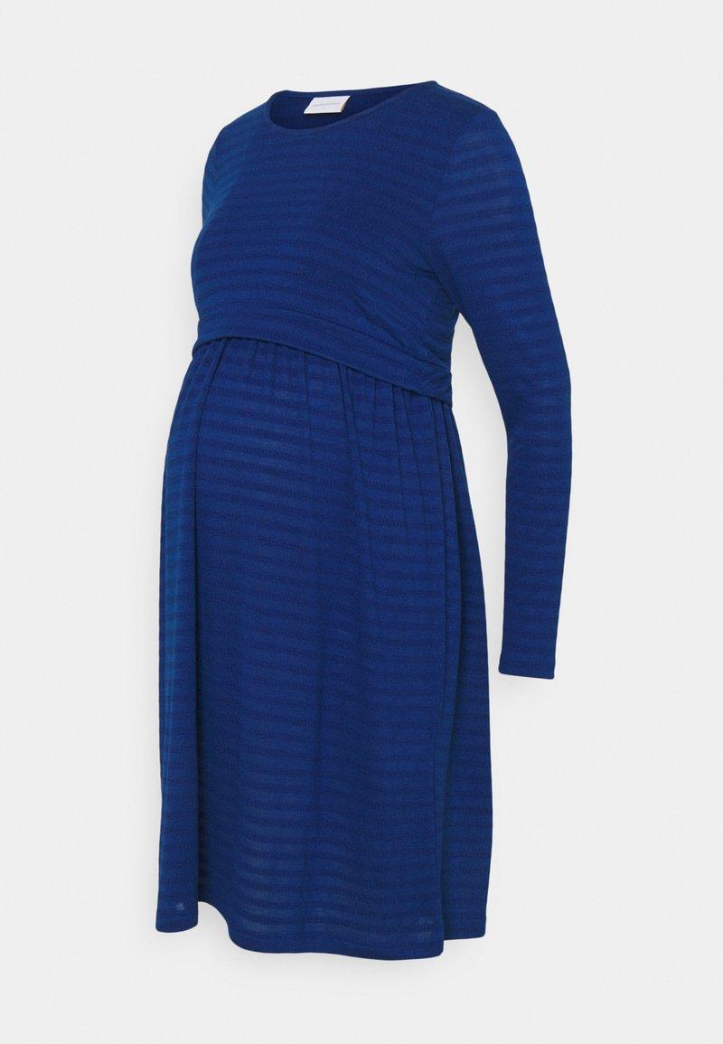 MAMALICIOUS - NURSING DRESS - Žerzejové šaty - true blue