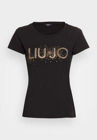 Liu Jo Jeans - T-shirt z nadrukiem - nero - 3