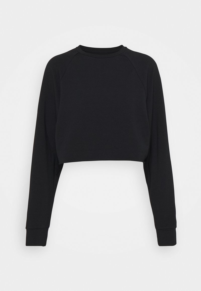 Even&Odd - Cropped lightweight - Sweatshirt - black