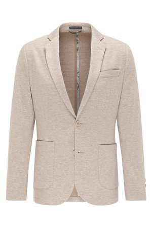 VERMONT - Blazer jacket - beige melange