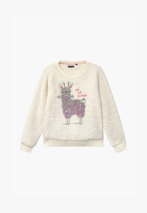 TEEN GIRLS - Fleece jumper - marshmallow