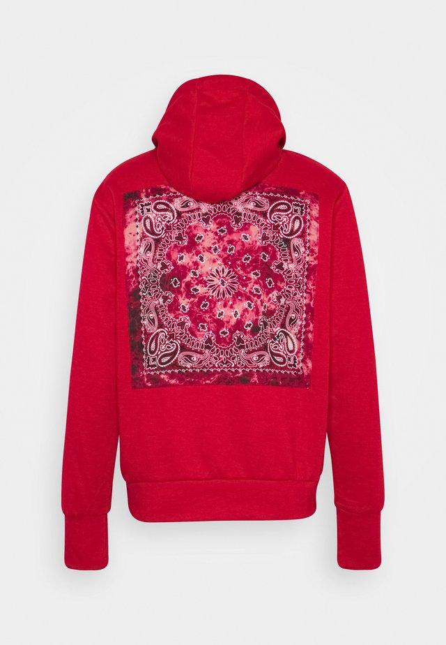 BANDANA HOODIE - Jersey con capucha - red