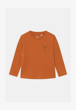 FLAX OWL - Longsleeve - orange