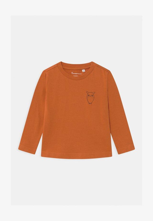 FLAX OWL - T-shirt à manches longues - orange