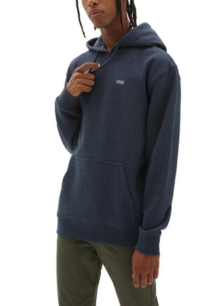 MN BASIC PULLOVER FLEECE - Hoodie - dress blues heather