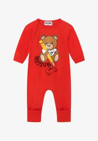 MOSCHINO - BABYGROW GIFT BOX - Overal - poppy red - 4