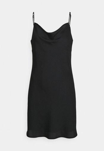 SIRI MINI COWLNECK DRESS - Cocktail dress / Party dress - black