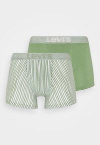 Levi's® - MEN VERTICAL STRIPE BRIEF 2 PACK - Pants - green - 0