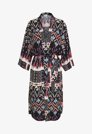 3/4 KIMONO - Summer jacket - black