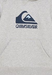 Quiksilver - BIG LOGO - Felpa con cappuccio - light grey heather - 2