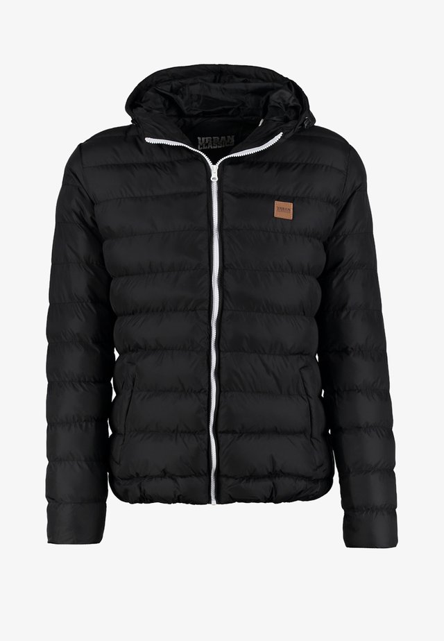 BASIC BUBBLE JACKET - Giacca invernale - black/white/black