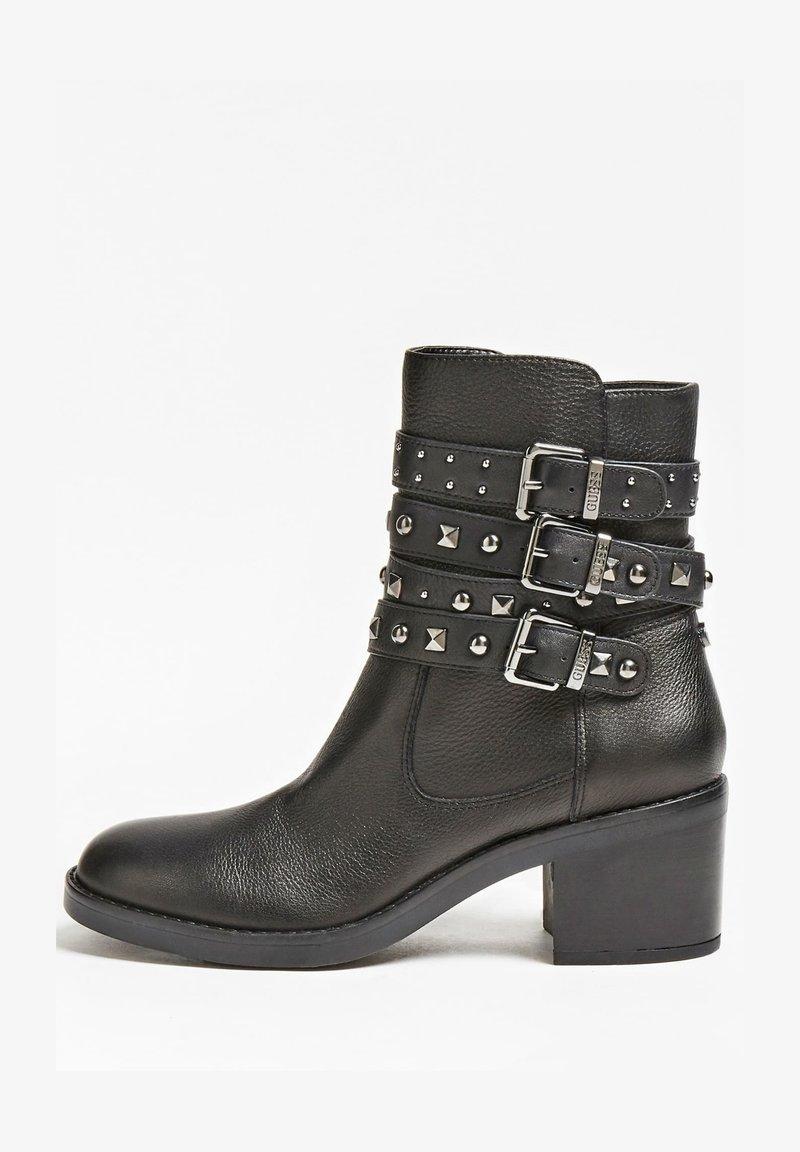 Guess - Cowboy/biker ankle boot - schwarz