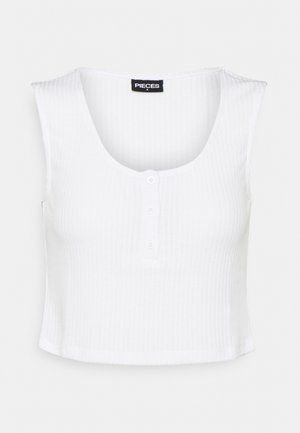 PCMURIA CROP - Top - bright white