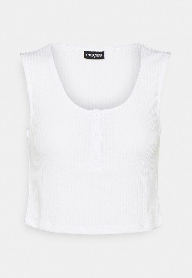 PCMURIA CROP - Top - bright white