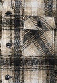 Mennace - FLECK CHECK - Summer jacket - black/ecru - 2