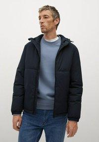 Mango - TARGET-I - Winter jacket - dunkles marineblau - 0