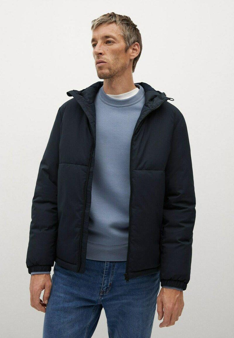 Mango - TARGET-I - Winter jacket - dunkles marineblau
