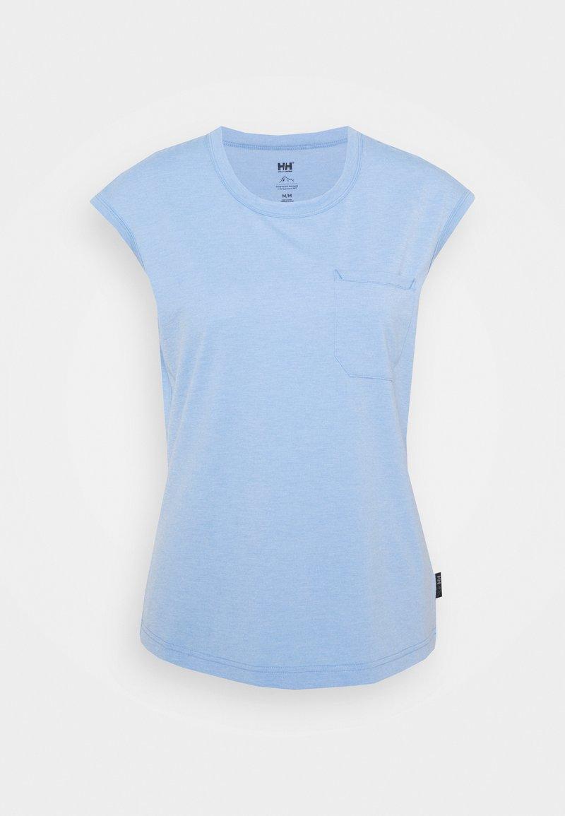 Helly Hansen - DALEN  - T-shirt con stampa - skagen blue melange