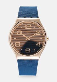 Swatch - NIGHT TRICK - Rannekello - blue - 0