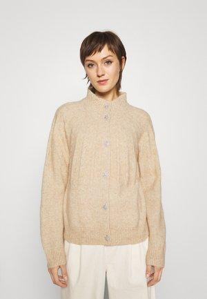 AISHA EMILY CARDIGAN - Cardigan - beige melange