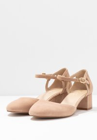Anna Field Wide Fit - LEATHER - Klassiske pumps - nude - 4