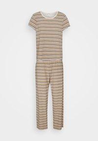 Monki - TAMRA - Pyjama set - beige/candy - 4
