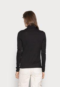 Weekday - CHIE TURTLENECK - Long sleeved top - black - 2