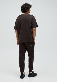 PULL&BEAR - T-shirt - bas - mottled brown - 2