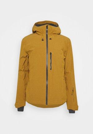 UNTRACKED - Ski jacket - bronze brown/cumin heather