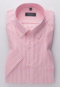 Eterna - COMFORT FIT - Shirt - rot/weiss - 4
